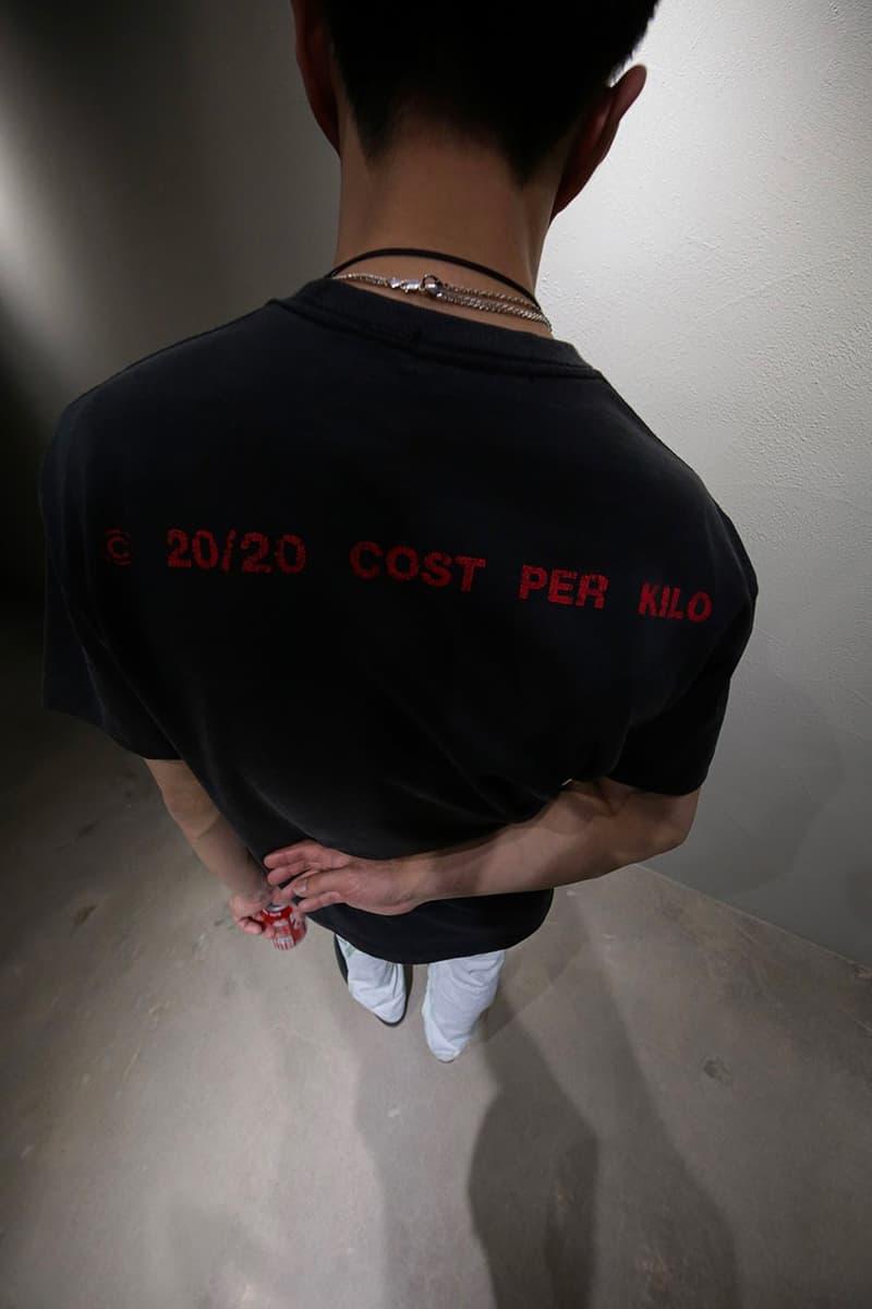 Cost per Kilo SS20 Season 3 Collection Lookbook Release Info Korean Seoul South Korea Fashion Label Brand
