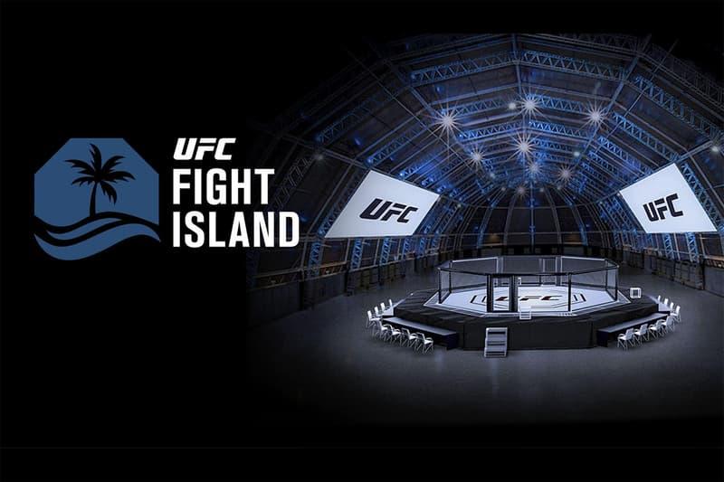 Dana White UFC Fight Island Abu Dhabi Location Fight Card Announcement Info Khabib Nurmagomedov Justin Gaethje 253 Daniel Cormier Stipe Miocic