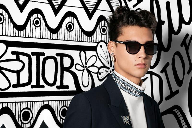 Dior Men's Fall 2020 Collection Campaign Release Info kim jones menswear Steven Meisel shawn stussy graphics