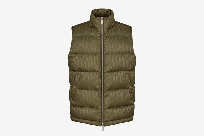 Dior Oblique Down Vest Release Green Info Buy Price
