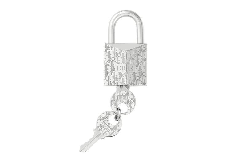 Dior Oblique Padlock Key Ring luxury dior CD Oblique Kim Jones Ambush Yoon Design Jewelry accessories French France Paris