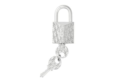 Dior Drops $570 USD Oblique Padlock Key Ring