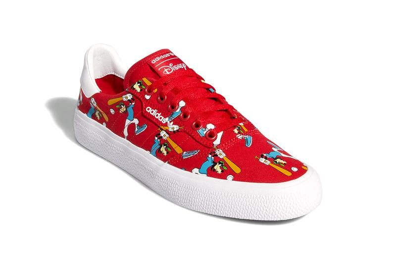 disney adidas originals 3mc slip nizza goofy FV9881 scarlet red cloud white collegiate royal FV9888 light blue FW9590 core black FW0645 official release date info photos price store list buying guide