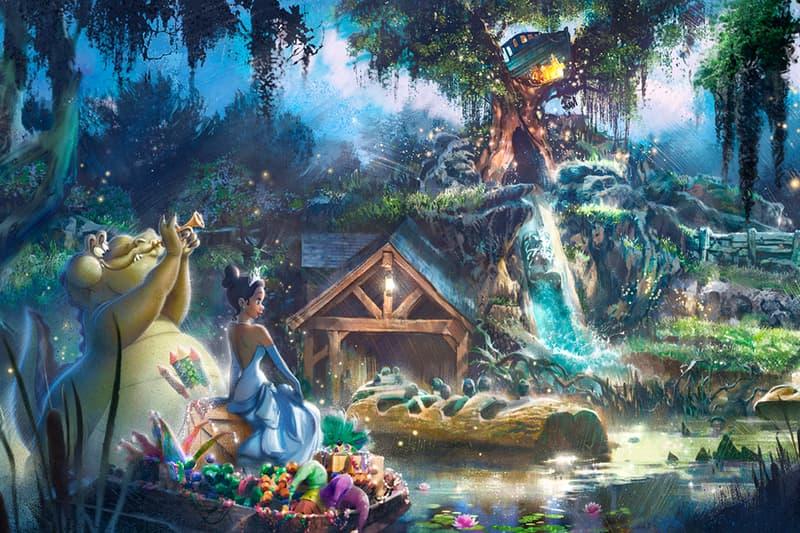 Disney Parks Rename Splash Mountain Ride The Princess and the Frog Info California Florida Tokyo
