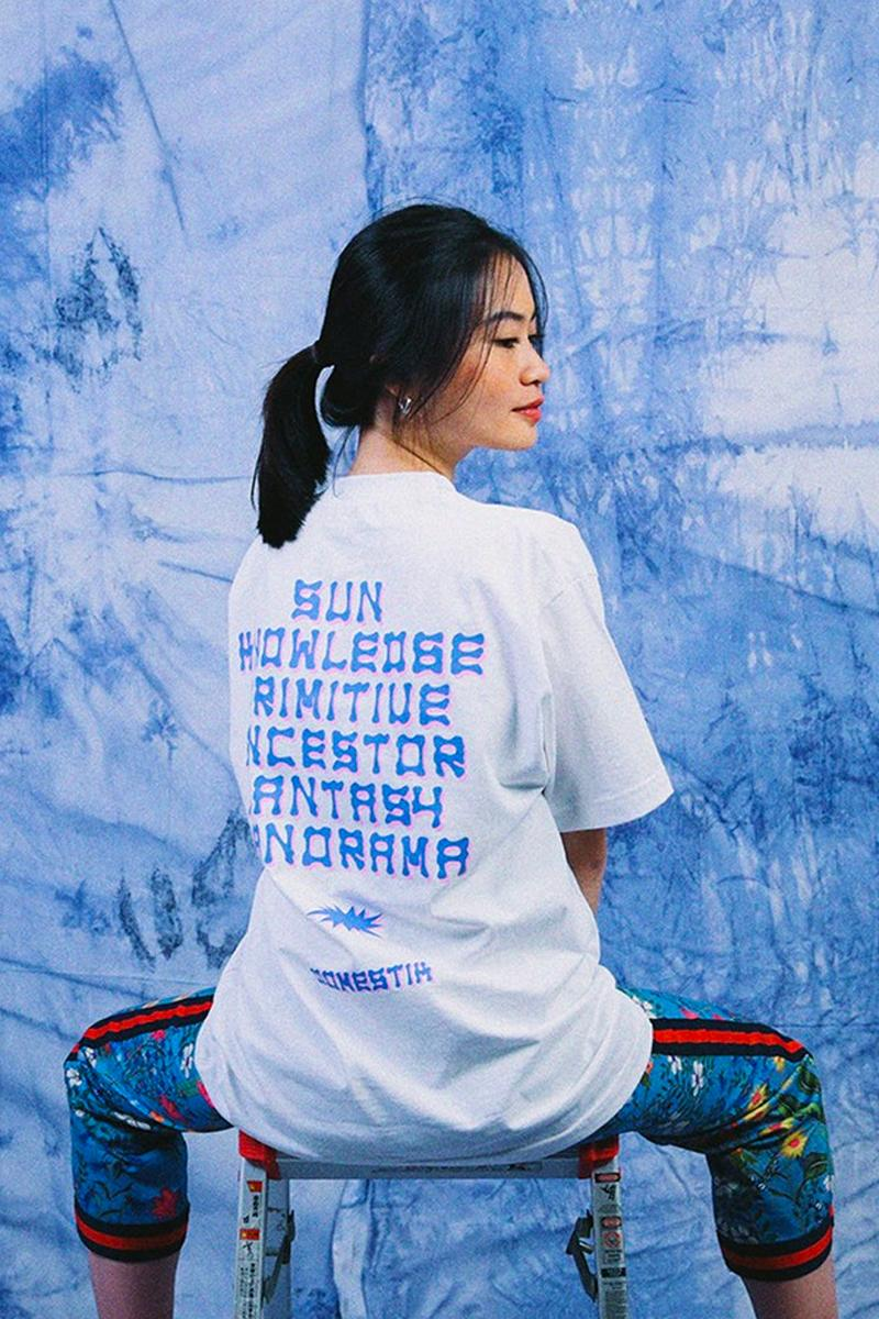 DOMESTIK Summer 2020 Lookbook collection menswear streetwear indonesian jakarta graphic tees t shirts jeans sweatershirts t shirts long sleeves track pants trousers
