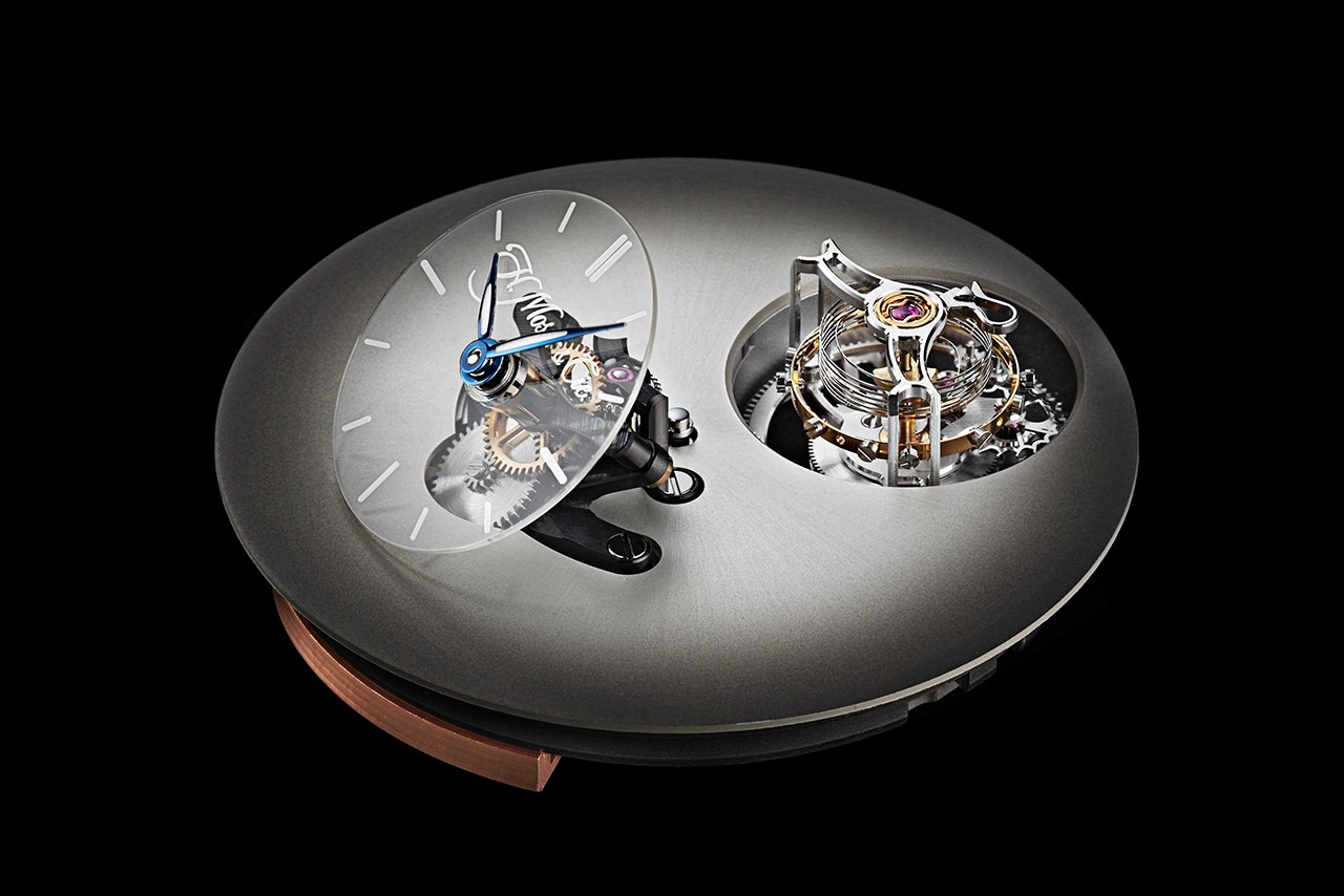H. Moser x MB&F Endeavour Cylindrical Tourbillon, LM101 watches collaboration timepieces release date limited 1810-1205 reference legacy machine