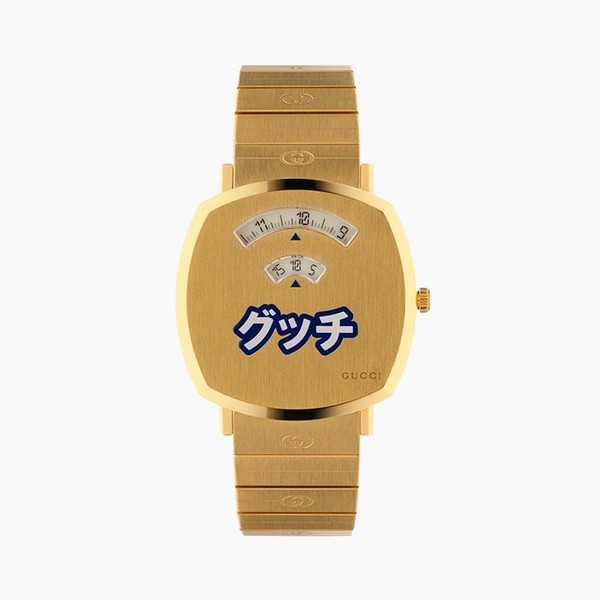 Gucci Grip Watch Japan-Exclusive