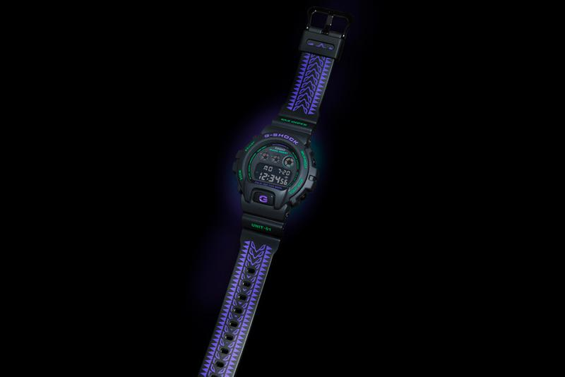 Evangelion Casio G-SHOCK DW-6900 Release Info Buy Price Black Purple