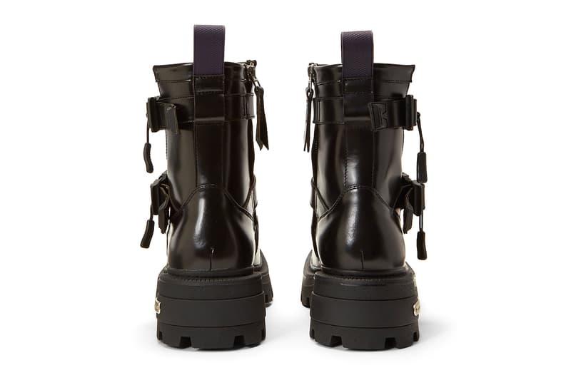Eytys Blade Leather Boots Black menswear streetwear spring summer 2020 collection footwear