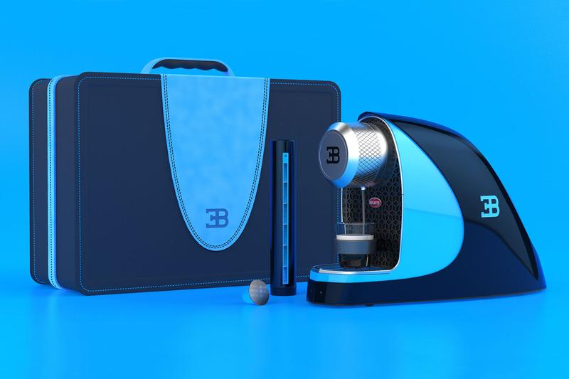 Fábio Martins Bugatti Chiron Etiron Nespresso Machine hypercar supercar renders design student art luxury supercars coffee espresso