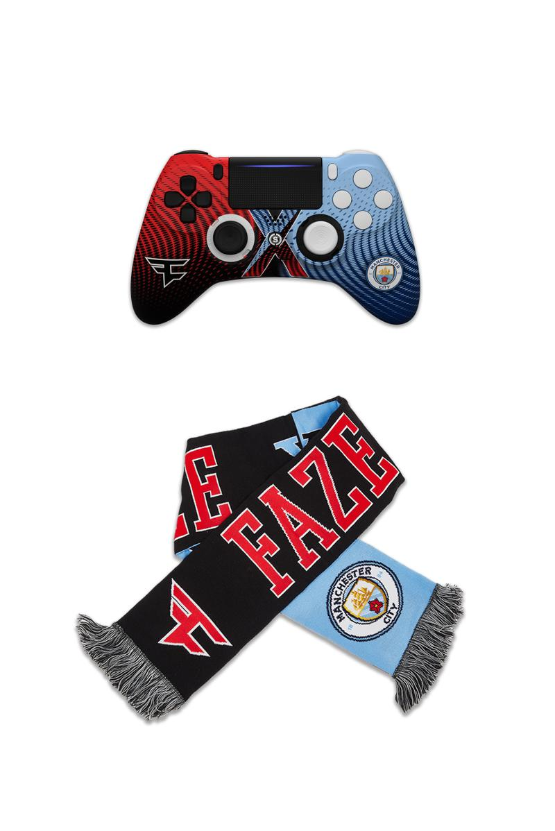 FaZe Clan x Manchester City Collab Lookbook