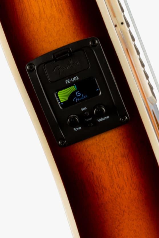 Fender Fullerton Strat Electric Ukulele Info Gutiars stratocaster telecaster instruments ukulele electric