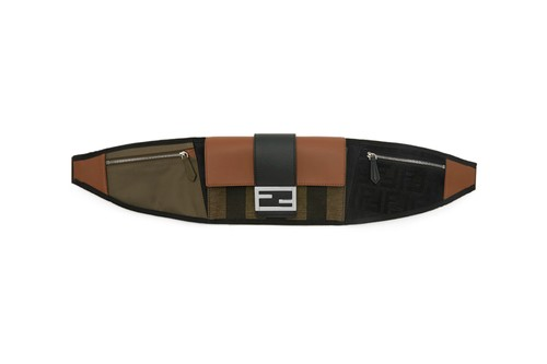 """Fendi's """"Forever Fendi"""" Baguette Belt Bag Is a Perfect Luxury Everyday Carry"""