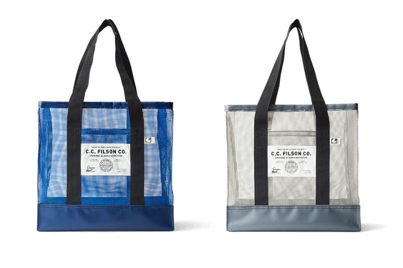 Nomar Filson Alaskan Mesh Go Bag menswear streetwear spring summer 2020 collection totes drip fisherman homer