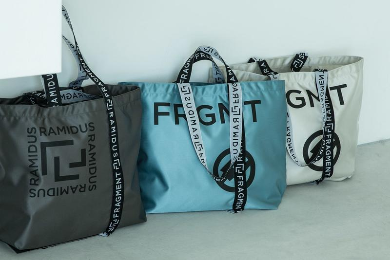 fragment design x RAMIDUS Summer 2020 Tote Bags hiroshi fujiwara porter head ss20 japan release date info buy 11 13 june