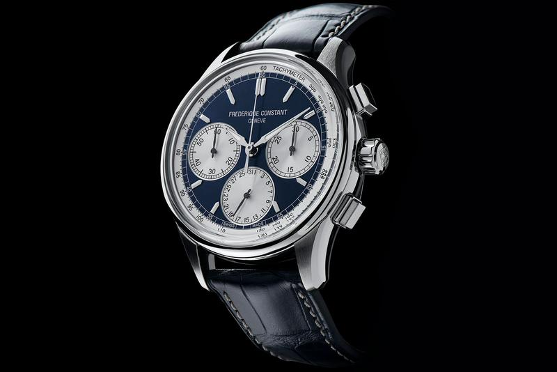 Frederique Constant Flyback Chronograph Manufacture watches timer swiss luxury