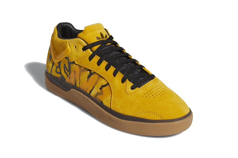 fucking awesome adidas skateboarding tyshawn jones active gold yellow core black gum FX0865 official release date info photos price store list