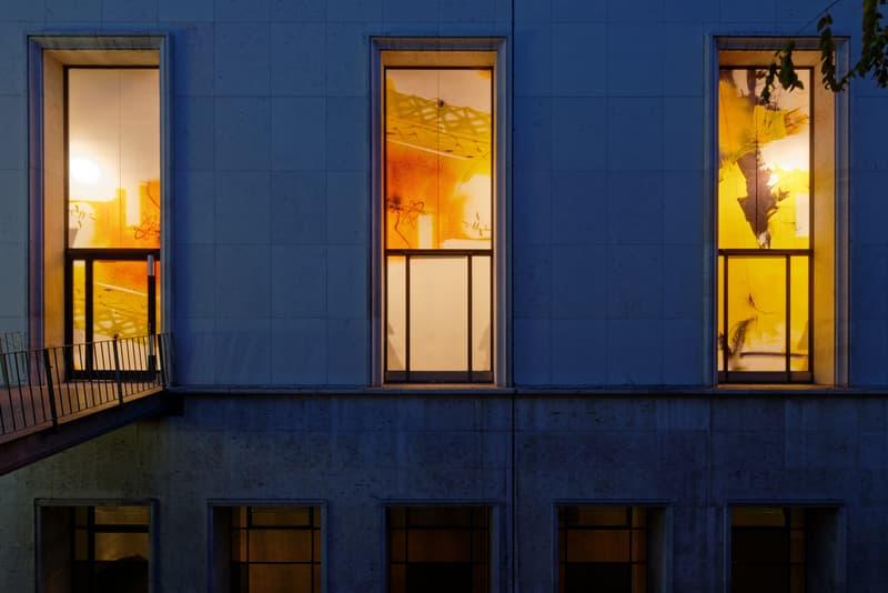 futura palais de tokyo lasco project violent treasure painting window displays