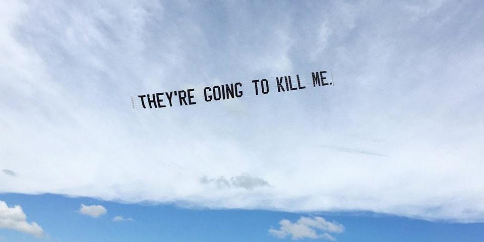 Artist Jammie Holmes Stages Aerial Demonstrations of George Floyd's Final Words