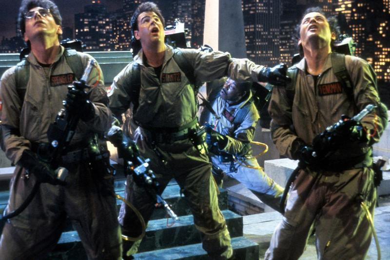 Ghostbusters Cast Reunite YouTube Livestream Bill Murray Dan Aykroyd Ernie Hudson Sigourney Weaver ivan reitman supernatural comedy 1984 movie films covid 19 quarantine