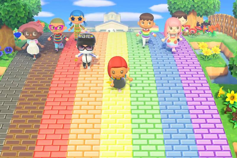 we are social global pride event animal crossing new horizons nintendo switch island celebration month june