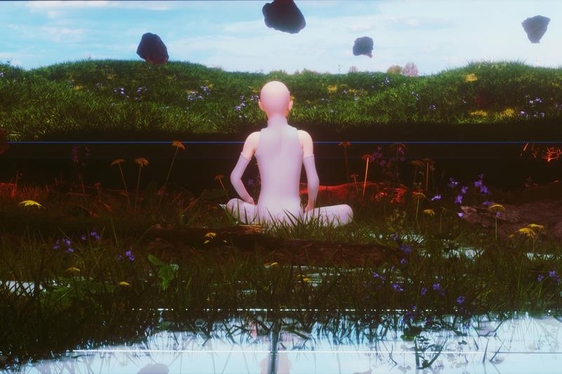 grimes selling out maccarone los angeles exhibition artworks
