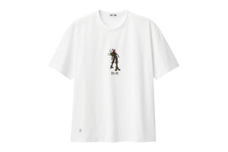 GU Evangelion Spring Summer 2020 Capsule menswear streetwear collection graphic t shirts tees angels dont run away anime animation retro vintage eva 02