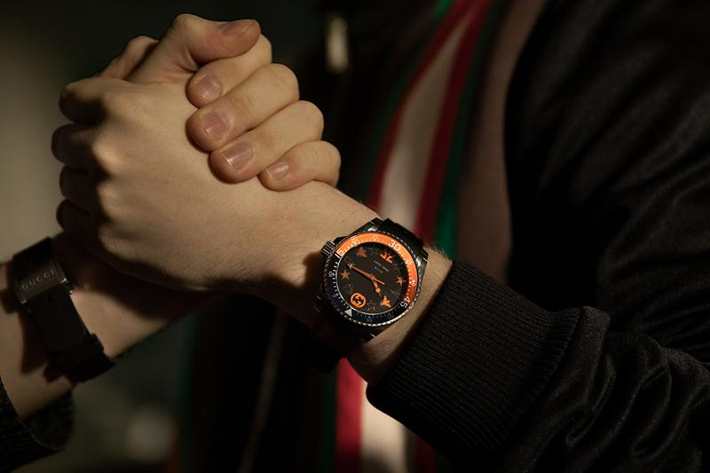 gucci fnatic dive watch release information buy cop purchase gaming league of legends details limited edition