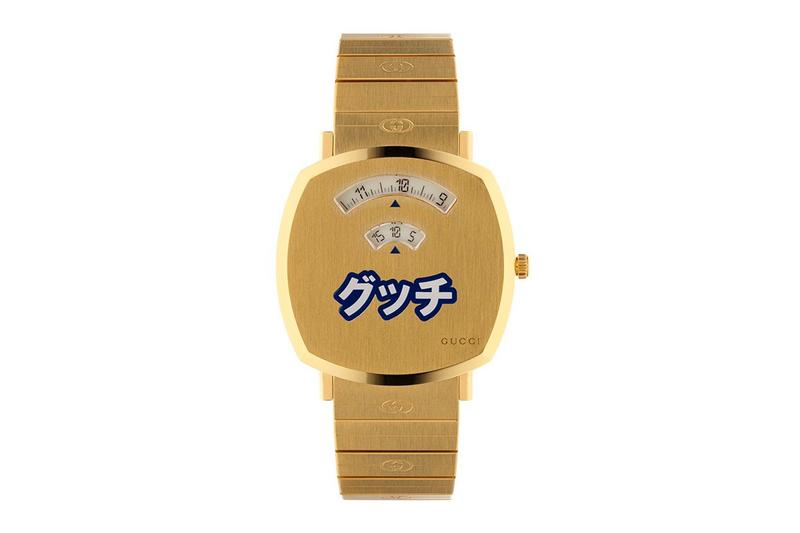 Gucci Grip Watch Japan Exclusive Release Info Buy Price Gold Katakana