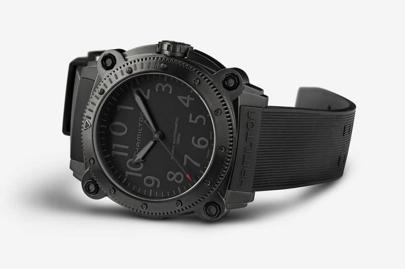 hamilton watches tenet christopher nolan movie limited edition belowzero titanium watch nathan crowley