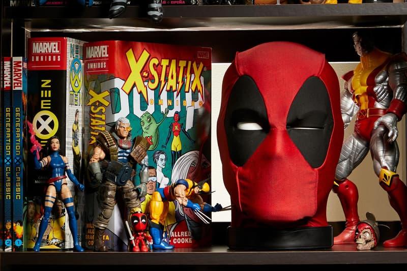 Hasbro Pulse Life-Sized Talking Deadpool Head Marvel Comics X-Men