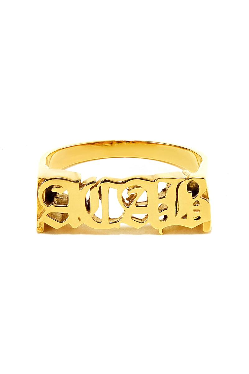 Hatton Labs A.C.A.B Ring & T-Shirt Collection for #BlackLivesMatter UK London Based Jewelry Brand Jack Cannon 9ct Gold Gold Plated Sterling Silver Release Information BLM The Memorial Family Fund UKBLM