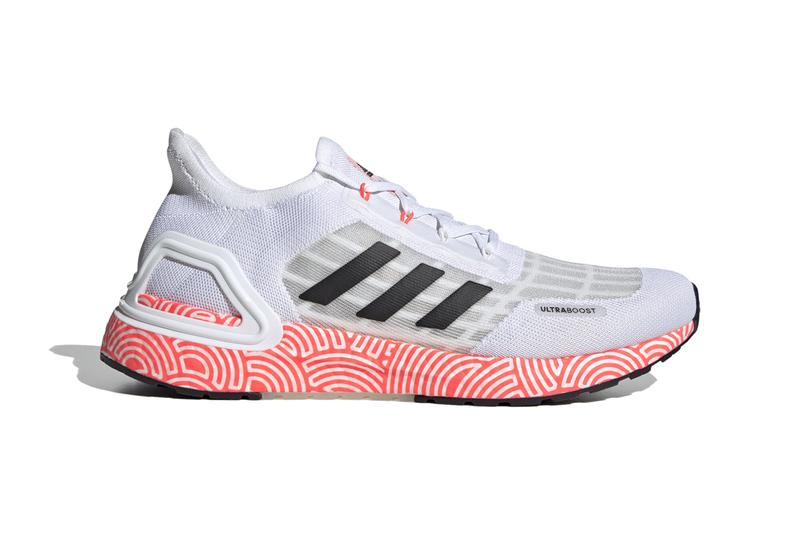 hirocoledge adidas running ultraboost summer rdy ready Takahashi Hiroko cloud white core black signal pink red FX0031 olympic games official release date info photos price store list