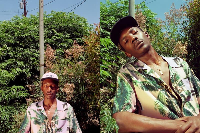 HUF Summer 2020 Lookbook With bLAck pARty Staycation T-shirts Shorts Pants Swim Trunks Towels Jackets Retro Sportswear Stripes Tie-Dye Leopard