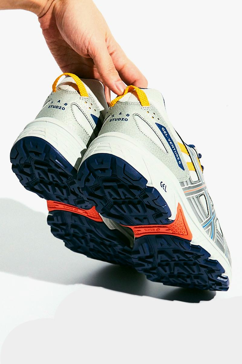 IAB Studio ASICS GEL Venture 6 menswear streetwear spring summer 2020 collection collaboration capsule shoes sneakers footwear trainers runners kicks