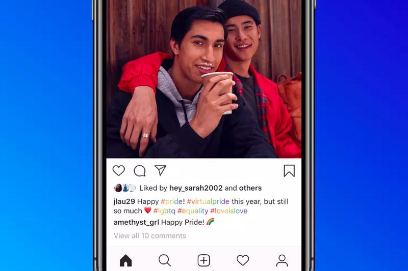 Instagram Pride Month 2020 features rainbow hashtag story LGBTQIA community guide