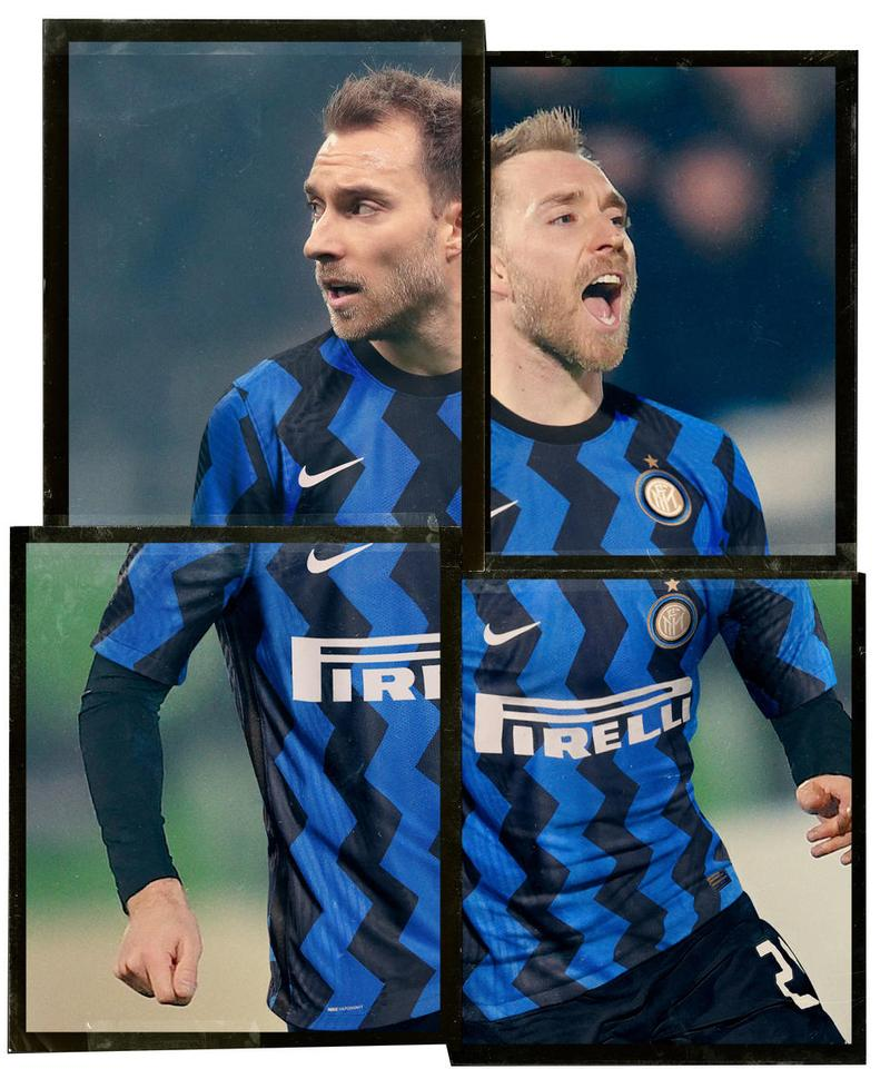 nike football soccer inter milan blue black zigzag stripes release information home jersey serie a italy 2020 2021 season