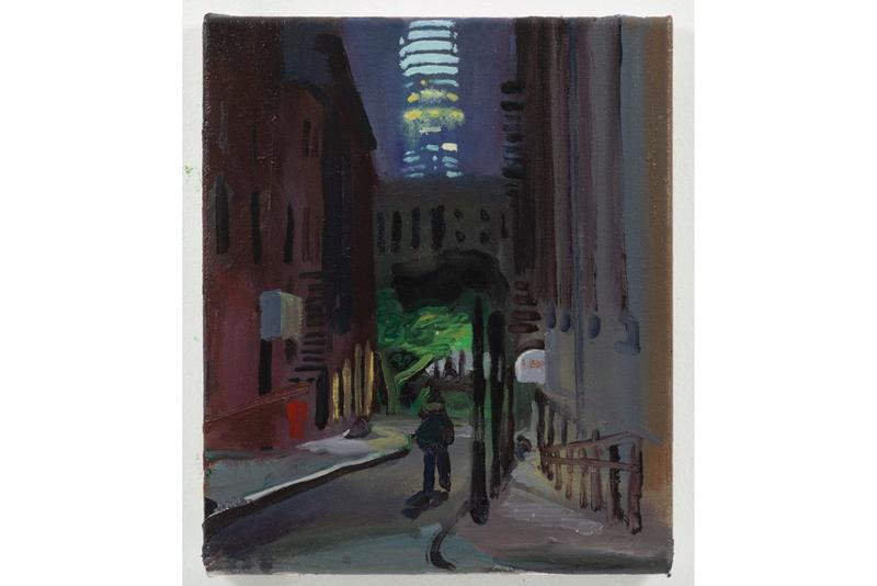 """Izzy Barber James Fuentes Gallery Online Viewing Room """"Last Call and Chinatown Paintings"""""""