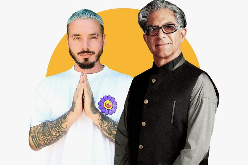 J Balvin, Deepak Chopra Free 21-Day Meditation Course experience download audio listen self care