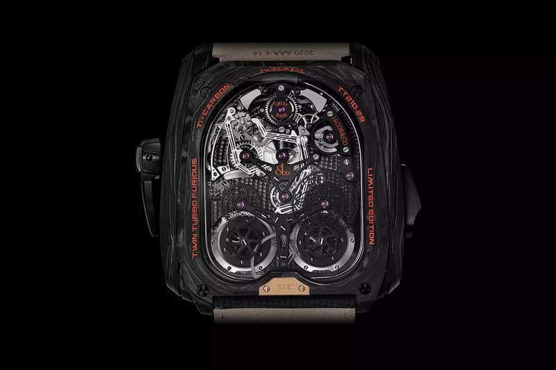 jacob co bugatti twin turbo super sport 300 timepiece watch collaboration TT210.29.AB.AB.ABVEA