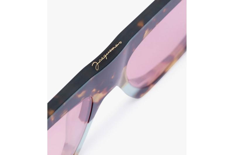 Jacquemus Brown Lunnes Tortoiseshell Sunglasses eyewear French sunglasses accessories browns fashion
