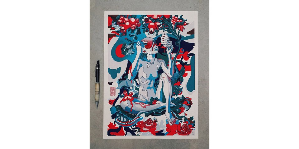 James Jean Is Auctioning off Rare 'Pomegranate' Print to Support Racial Justice