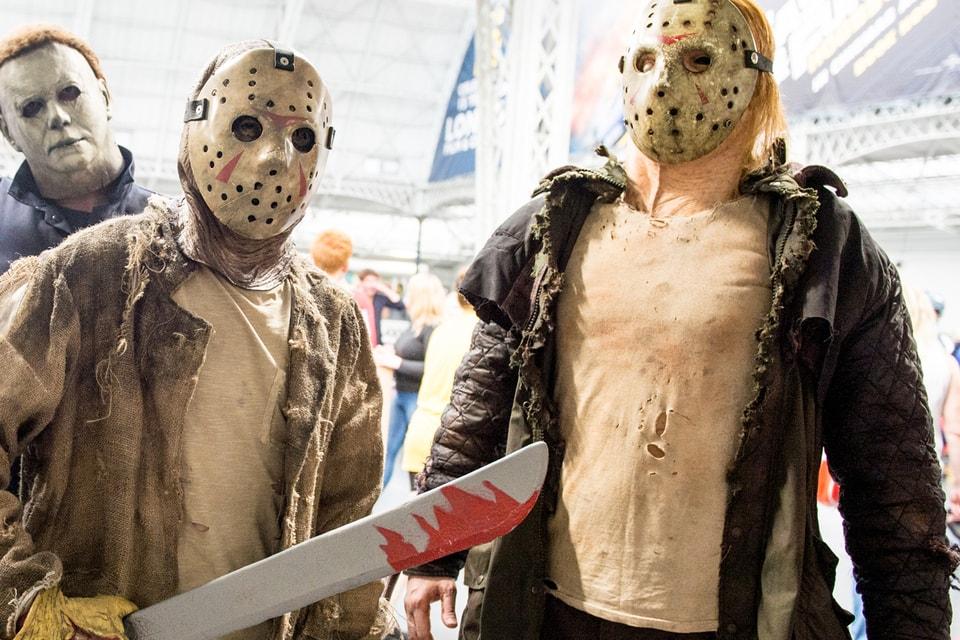 Halloween 2020 Jason Face Jason Voorhees Coronavirus Face Mask PSA | HYPEBEAST