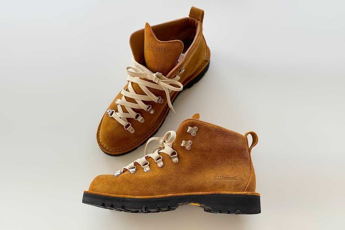 JJJJound x Danner FW20 Mountain Boots