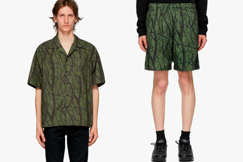 John Elliott Camp Shirt & Practice Shorts Green Orange Release SSENSE Info Buy Price Duck Club