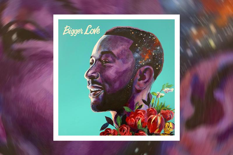 John Legend 'Bigger Love' Album Stream music video neo-soul R&B listen now apple music spotify John Legend Music/Columbia Records