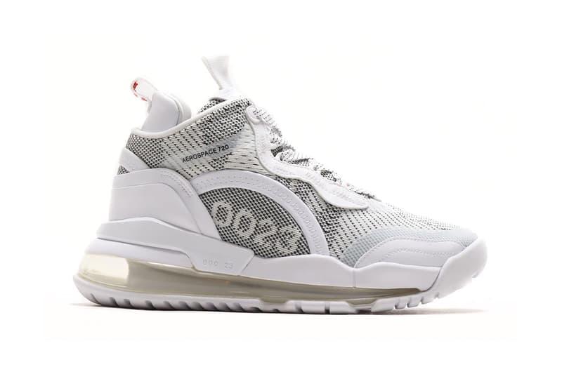 Jordan Aerospace 720 Jacquard White gym red menswear streetwear spring summer 2020 collection sneakers footwear shoes kicks trainers runners basketball