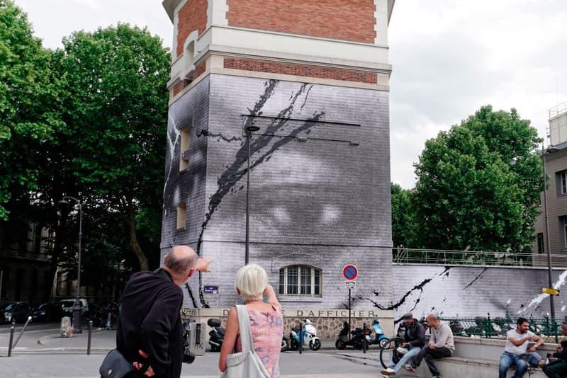 jr paris mural george floyd adama traore artworks public art