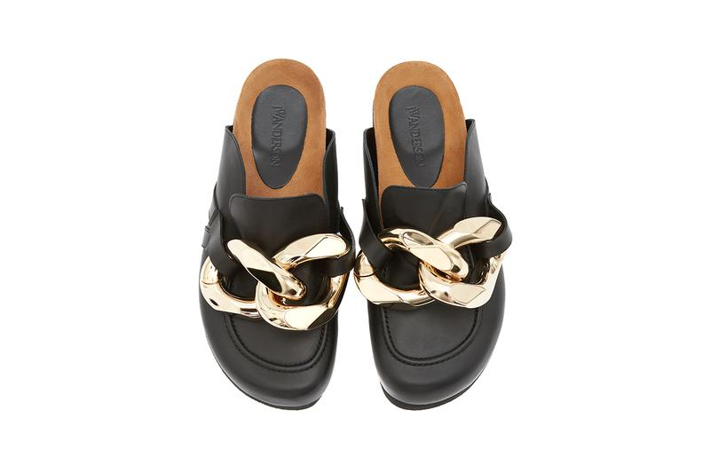 JW Anderson Chain Loafer Pre-Order Now Open Fall/Winter 2020 FW20 Footwear Release Information Jonathan Anderson Paris Men's Fashion Week Black Brown Light Blue White Leather