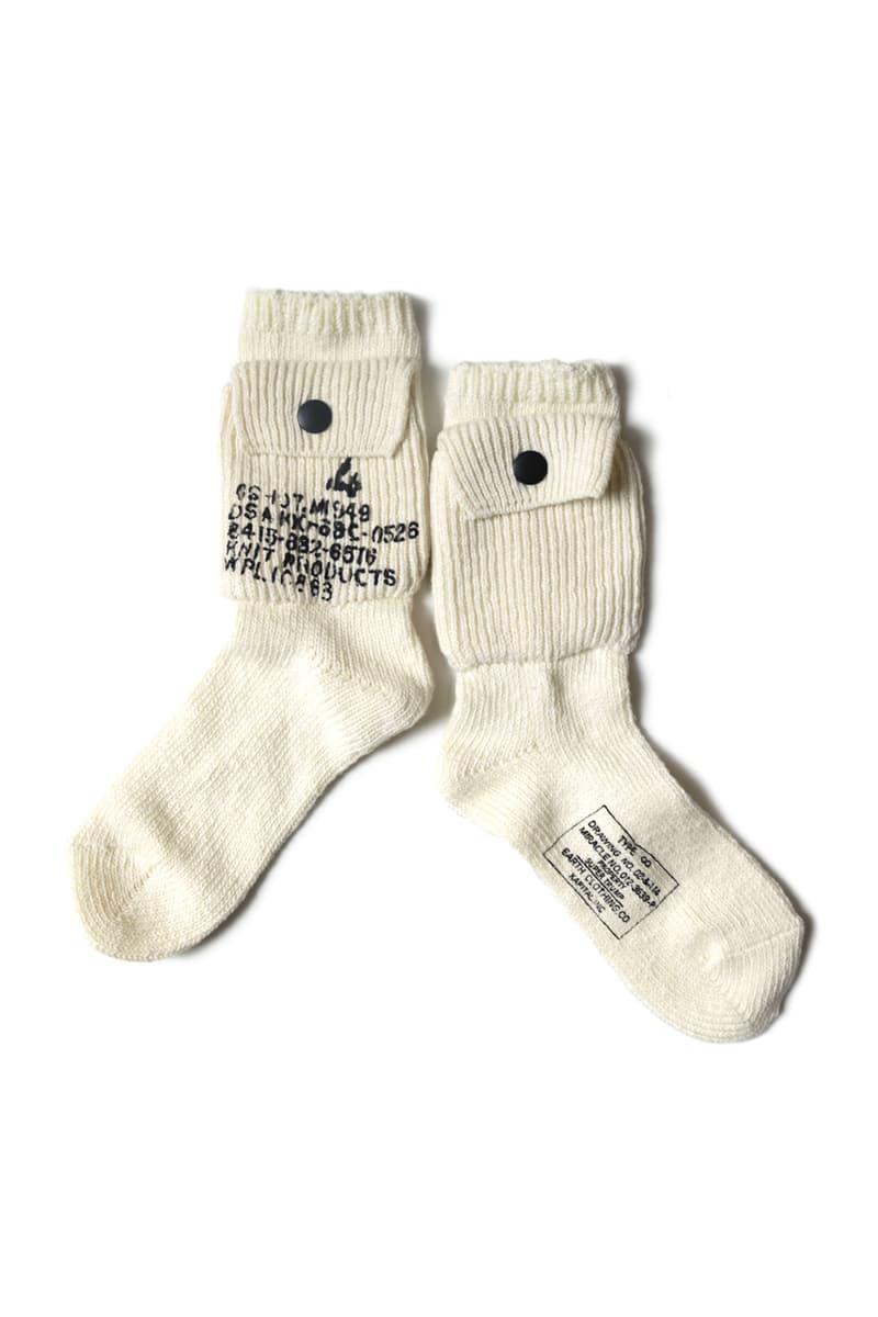 KAPITAL 56 Cotton Alpine Socks 200 gable see through menswear streetwear spring summer 2020 collection Japanese accessories